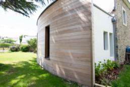 Ossature bois traditionnelle, Riec sur Bélon, Finitère, Bretagne